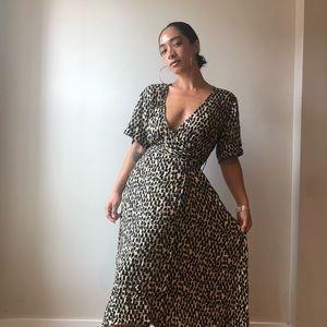 BANANA REPUBLIC Wrap Maxi Dress
